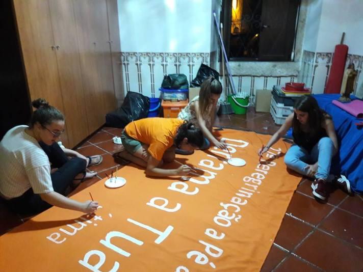 preparação Peregrinação Fátima 2018 - GJM
