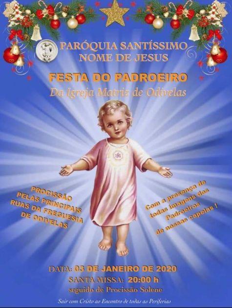 festa do santíssimo nome de Jesus 2019