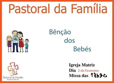 pastoral da família bênção dos bebés